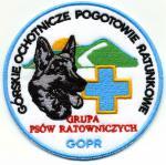 Naszywki GOPR - Grupa Psów Ratowniczych