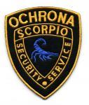 Naszywki dla Ochrony Scorpio