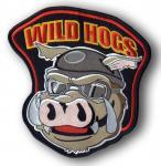 Naszywki na plecy WILD HOGS