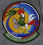 Naszywka Air Force Academy 821