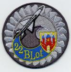 22 Blot - Baza Lotnicza – Malbork - emblemat