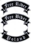 Szarfy: Free Rider, Free Biker, Poland